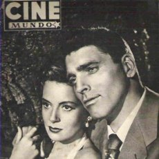 Cine: CINE MUNDO - Nº103 MARZO 1954 ** AVA GARNER. Lote 14816784