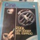 Cine: 'HISTORIA DEL CINE - DIARIO 16'. FASCÍCULO Nº 16. 2001 UNA ODISEA DEL ESPACIO EN PORTADA. 1986.. Lote 160647972