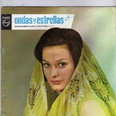 Cine: ONDAS Y ESTRELLAS,INTERESANTE REVISTA INFORMATIVA DE PHILIPS,AÑO 1965.VER FOTO ADICIONAL. Lote 18635965