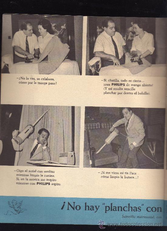 ONDAS Y ESTRELLAS,REVISTA INFORMATIVA DE PHILIPS,AÑO 1963.VER FOTO ADICIONAL.CREO QUE ES LA Nº 1 (Cine - Revistas - Ondas)