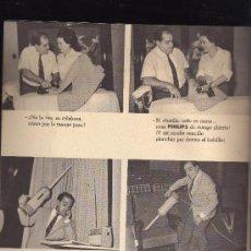 Cine: ONDAS Y ESTRELLAS,REVISTA INFORMATIVA DE PHILIPS,AÑO 1963.VER FOTO ADICIONAL.CREO QUE ES LA Nº 1. Lote 24875892