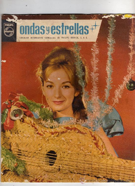 Cine: ONDAS Y ESTRELLAS,REVISTA INFORMATIVA DE PHILIPS,AÑO 1963.VER FOTO ADICIONAL.CREO QUE ES LA Nº 1 - Foto 2 - 24875892