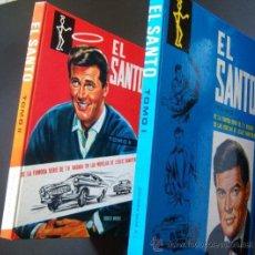 Cine: ROGER MOORE. EL SANTO. DOS ALBUMES TAPA DURA, LOMO AMERICANO. 1969.. Lote 14896018