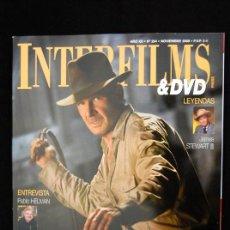 Cine: HARRISON FORD ESPECIAL DE LA REVISTA INTERFILMS DEDICADO A INDIANA JONES . Lote 14929572