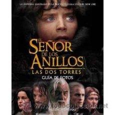 Cine: EL SEÑOR DE LOS ANILLOS - LOTE DE 2 LIBROS ILUSTRADOS - ESPAÑA - 2002 - SUPER OFERTA!!. Lote 25200234
