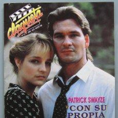 Cinema: REVISTA DE CINE : CLAQUETA Nº 13 JUNIO-JULIO-AGOSTO 1990. PORTADA PATRICK SWAYZE- ELEN HUNT.. Lote 15102099