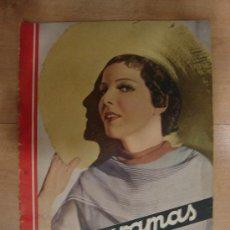 Cine: REVISTA CINEGRAMAS AÑO II. Nº 44. MADRID 14 DE JULIO DE 1935. Lote 15146419