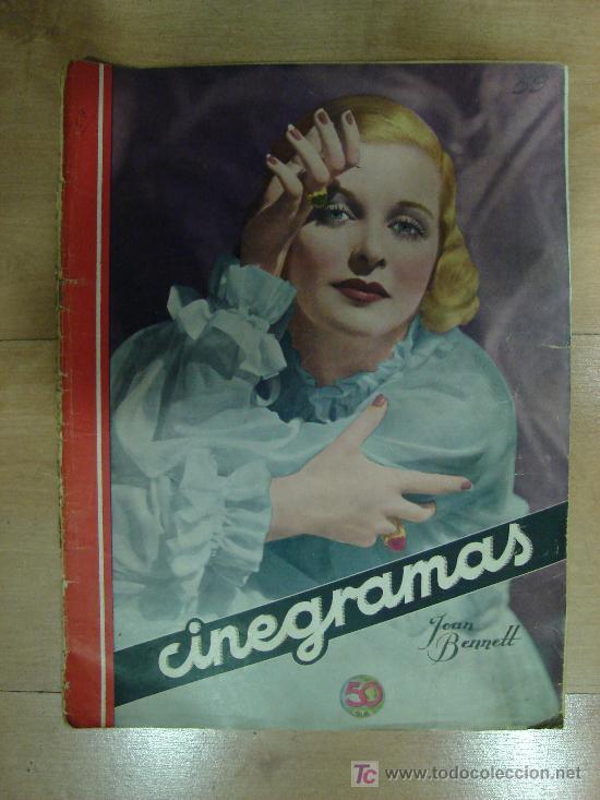 REVISTA CINEGRAMAS AÑO II. Nº 59. MADRID 27 DE OCTUBRE DE 1935 (Cine - Revistas - Cinegramas)