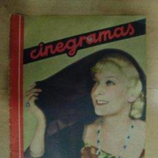 Cine: REVISTA CINEGRAMAS AÑO II. Nº 61. MADRID 10 DE NOVIEMBRE DE 1935. Lote 15146521