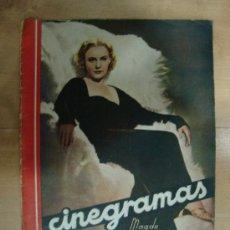 Cine: REVISTA CINEGRAMAS AÑO III. Nº 86. MADRID 3 DE MAYO DE 1936. Lote 15146579