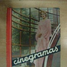 Cine: REVISTA CINEGRAMAS AÑO II. Nº 34. MADRID 5 DE MAYO DE 1935. Lote 15146598