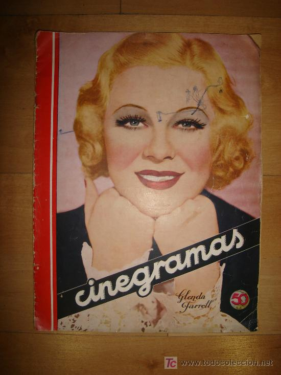 REVISTA CINEGRAMAS AÑO II. Nº 57. MADRID 13 DE OCTUBRE DE 1935 (Cine - Revistas - Cinegramas)