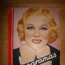Cine: REVISTA CINEGRAMAS AÑO II. Nº 57. MADRID 13 DE OCTUBRE DE 1935. Lote 15146639