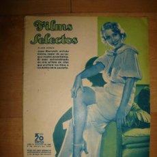 Cine: REVISTA FILMS SELECTOS. AÑO VI. Nº 228. MADRID 3 DE MARZO DE 1935. Lote 15146847