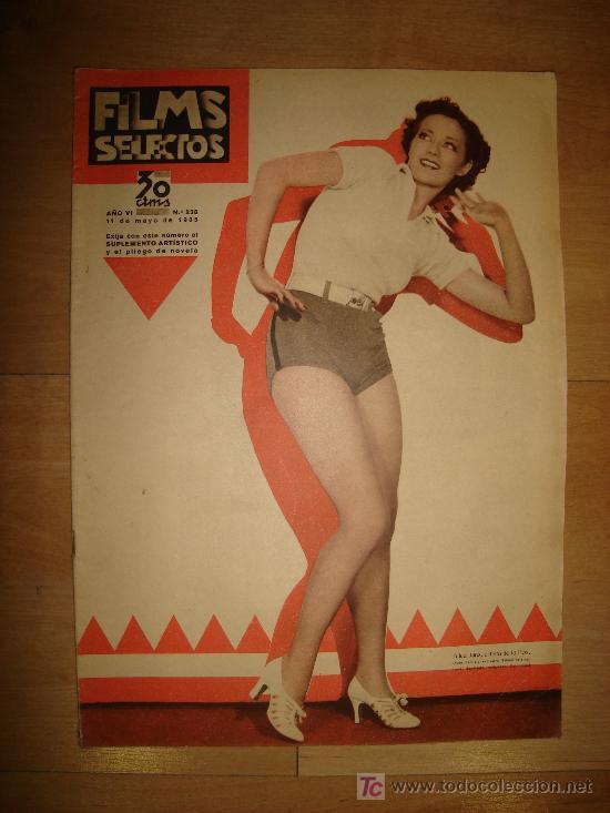 REVISTA FILMS SELECTOS. AÑO VI. Nº 238. MADRID 11 DE MAYO DE 1935 (Cine - Revistas - Films selectos)