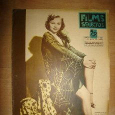 Cine: REVISTA FILMS SELECTOS. AÑO VI. Nº 241. MADRID 1 DE JUNIO DE 1935. Lote 15146866