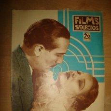 Cine: REVISTA FILMS SELECTOS. AÑO VI. Nº 240. MADRID 25 DE MAYO DE 1935. Lote 15146938