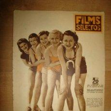 Cine: REVISTA FILMS SELECTOS. AÑO VI. Nº 253. MADRID 24 DE AGOSTO DE 1935. Lote 189809191
