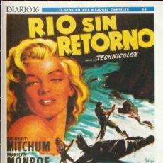 Cine: 18 CARTELES DE CINE-RIO SIN RETORNO Y OTROS. Lote 26613818