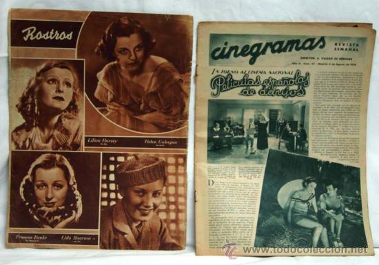 Cine: Cinegramas nº 47 Danielle Darrieux 4 agosto 1935 revista cinematográfica - Foto 2 - 15262758