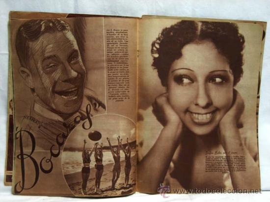 Cine: Cinegramas nº 47 Danielle Darrieux 4 agosto 1935 revista cinematográfica - Foto 3 - 15262758