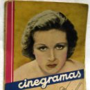 Cine: CINEGRAMAS Nº DANIELLE DARRIEUX 1935 REVISTA CINEMATOGRÁFICA. Lote 15262913