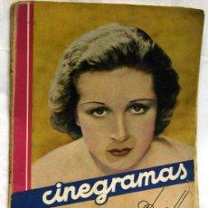 Kino - Cinegramas nº Danielle Darrieux 1935 revista cinematográfica - 15262913