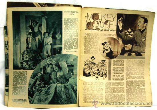 Cine: Cinegramas nº Danielle Darrieux 1935 revista cinematográfica - Foto 2 - 15262913