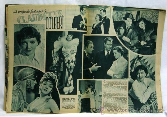 Cine: Cinegramas nº Danielle Darrieux 1935 revista cinematográfica - Foto 3 - 15262913