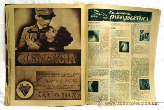 Cine: Cinegramas nº Danielle Darrieux 1935 revista cinematográfica - Foto 4 - 15262913