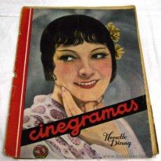 Cine: CINEGRAMAS Nº HONETTE DINAY 1935 REVISTA CINEMATOGRÁFICA. Lote 15262996