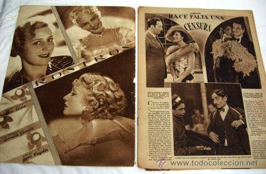 Cine: Cinegramas nº Honette Dinay 1935 revista cinematográfica - Foto 2 - 15262996