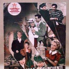 Cine: REVISTA CIFESA, PROMOCION 4 PELICULAS, CASA DE MUÑECAS, APENAS UN DELINCUENTE, ECLIPSE DE SOL. Lote 15321038