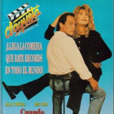 Cine: MAGAZINE CLAQUETA (BILLY CRYSTAL + MEG RYAN) 1990 Nº10 SPAIN. Lote 25447837