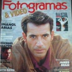 Cine: FOTOGRAMAS Nº 1757 - IMANOL ARIAS. Lote 15481917