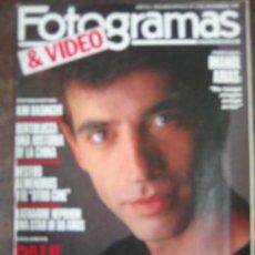 Cine: FOTOGRAMAS Nº 1735 - IMANOL ARIAS. Lote 23836230