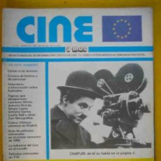 Cine: CINE Y MAS Nº 65. VERANO 1989. CHAPLIN; FIGURAS: LAURENCE OLIVIER, ANTONIO ROMAN, SERGIO LEONE. Lote 257433135