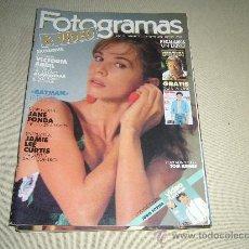 Cine: REVISTA FOTOGRAMAS Nº 1755 SEPTIEMBRE 1989. Lote 15540719