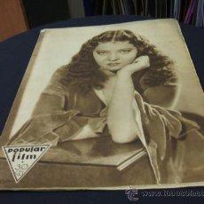 Cine: REVISTA DE CINE - POPULAR FILM - 12 MAYO 1932 - NUMERO 300. Lote 16588298