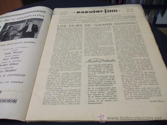 Cine: REVISTA DE CINE - POPULAR FILM - 12 MAYO 1932 - NUMERO 300 - Foto 2 - 16588298