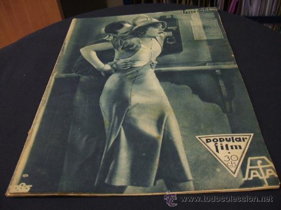 REVISTA DE CINE - POPULAR FILM - 4 AGOSTO 1932 - NUMERO 312 (Cine - Revistas - Popular film)