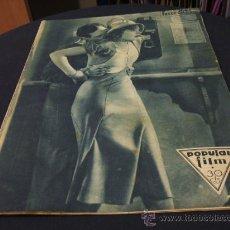 Cine: REVISTA DE CINE - POPULAR FILM - 4 AGOSTO 1932 - NUMERO 312. Lote 15559349