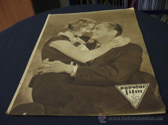 REVISTA DE CINE - POPULAR FILM - 19 MAYO 1932 - NUMERO 301 (Cine - Revistas - Popular film)