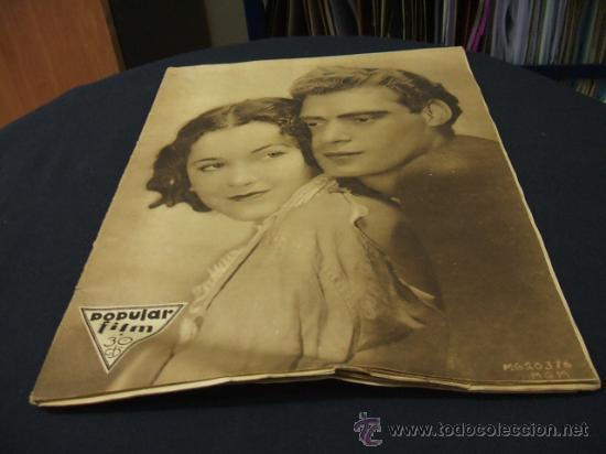 REVISTA DE CINE - POPULAR FILM - 5 MAYO 1932 - NUMERO 299 (Cine - Revistas - Popular film)