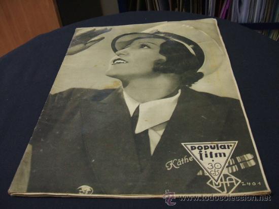 REVISTA DE CINE - POPULAR FILM - 21 JULIO 1932 - NUMERO 310 (Cine - Revistas - Popular film)