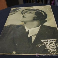 Cine: REVISTA DE CINE - POPULAR FILM - 21 JULIO 1932 - NUMERO 310. Lote 15559588