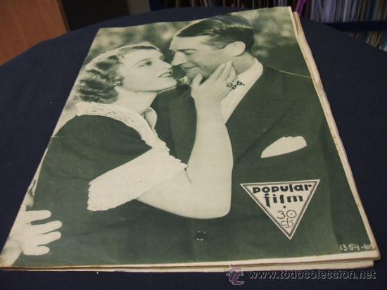 REVISTA DE CINE - POPULAR FILM - 16 JUNIO 1932 - NUMERO 305 (Cine - Revistas - Popular film)