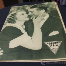 Cine: REVISTA DE CINE - POPULAR FILM - 16 JUNIO 1932 - NUMERO 305. Lote 23122040
