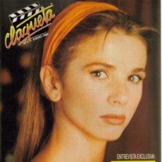 Cine: MAGAZINE CLAQUETA (VICTORIA ABRIL) 1990 Nº9 SPAIN. Lote 19920592