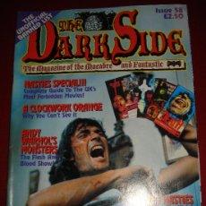 Cine: THE DARK SIDE MAGAZINE 58, ESPECIAL VIDEO NASTIES. TERROR UK, CULTO!!!. Lote 15597361